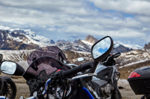 Motorcycle trip in the Dolomites